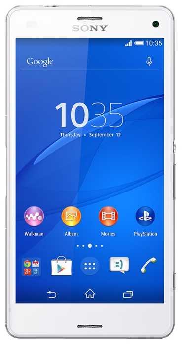 Замена сенсора, стекла, тачскрина Sony Xperia Z3 Compact